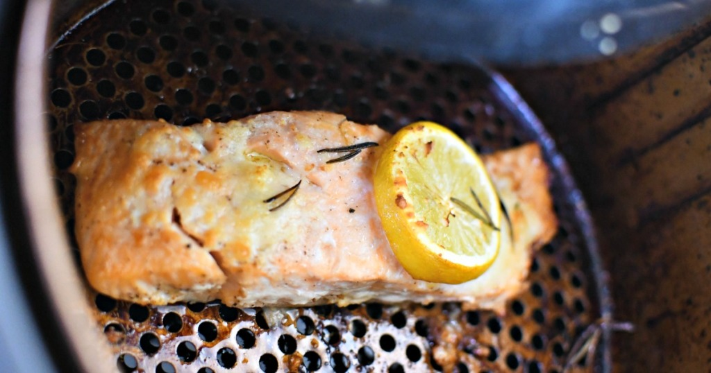 reheating salmon in air fryer