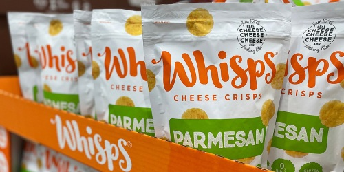 Craving that Crunch? Try Whisps Cheese Crisps (+ Score Huge Bags for ONLY $7.49 at Costco!)