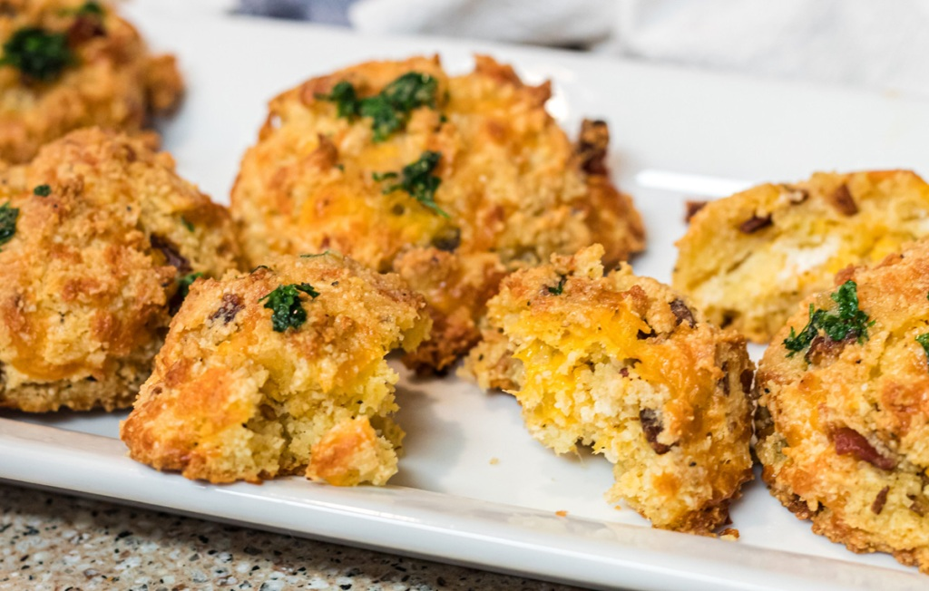 Keto Loaded Biscuits