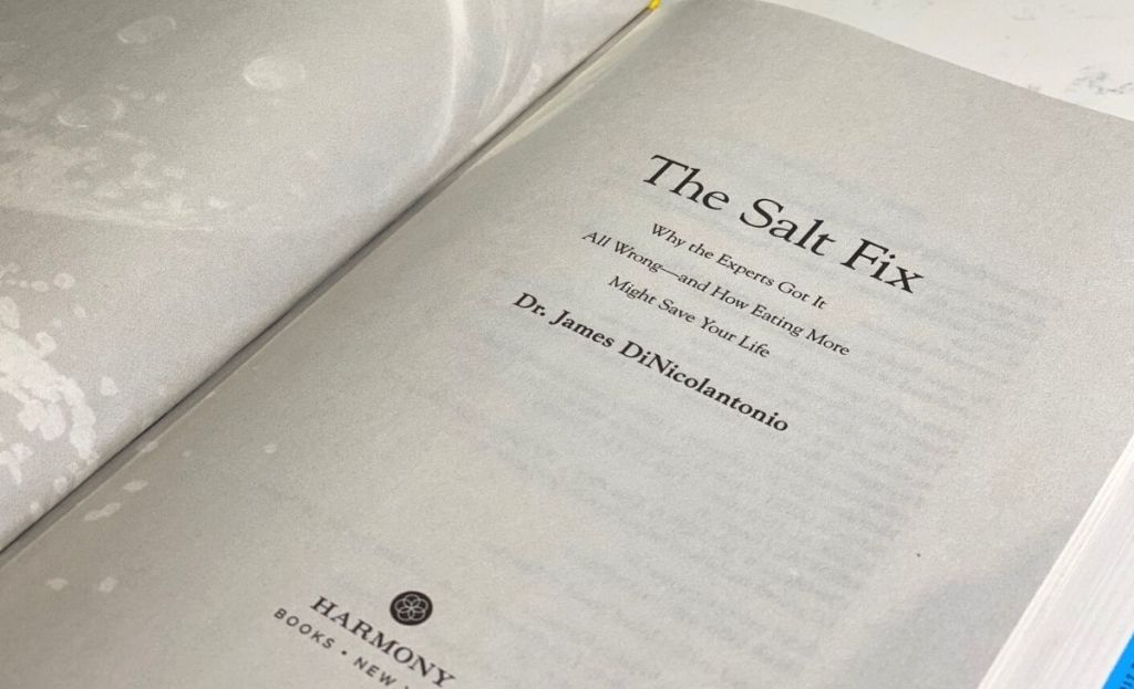 A page from The Salt Fix book