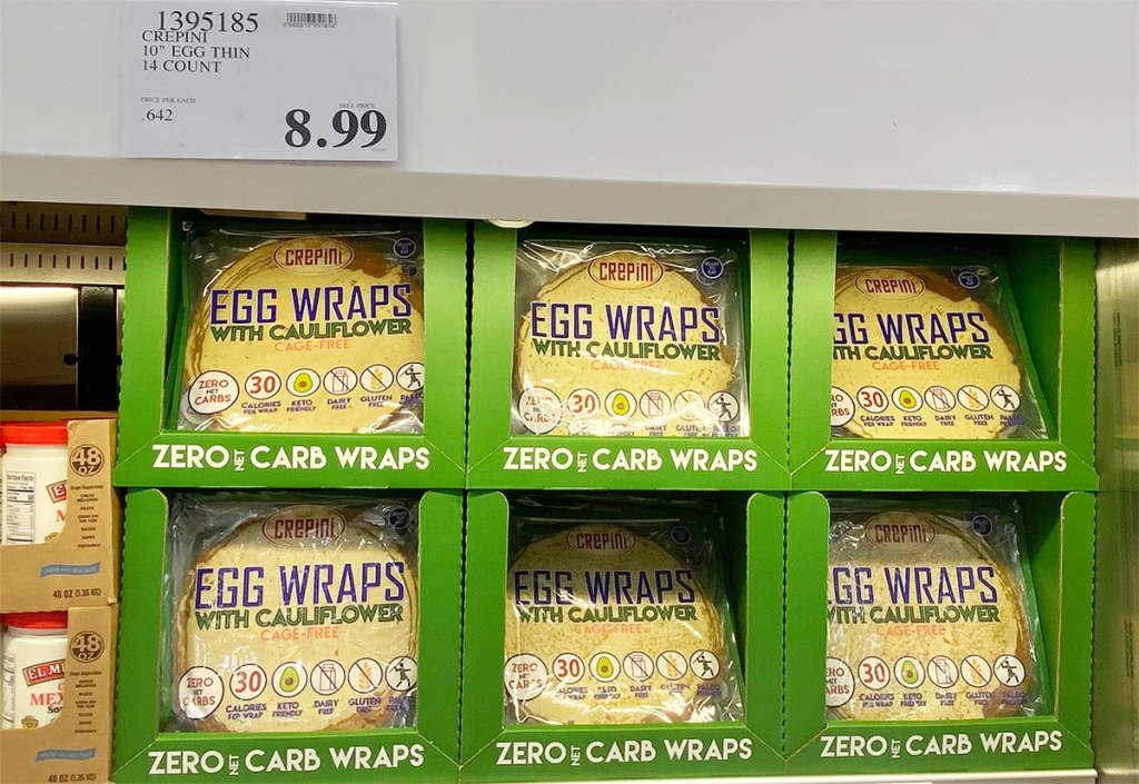 costco egg wraps