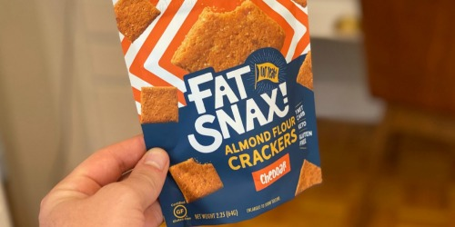 Fat Snax Keto Crackers & Cookies are a Game Changer
