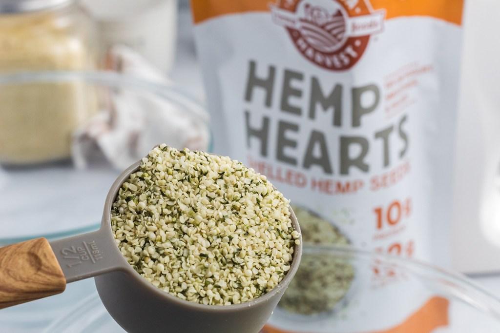 hemp hearts for keto oatmeal cookies