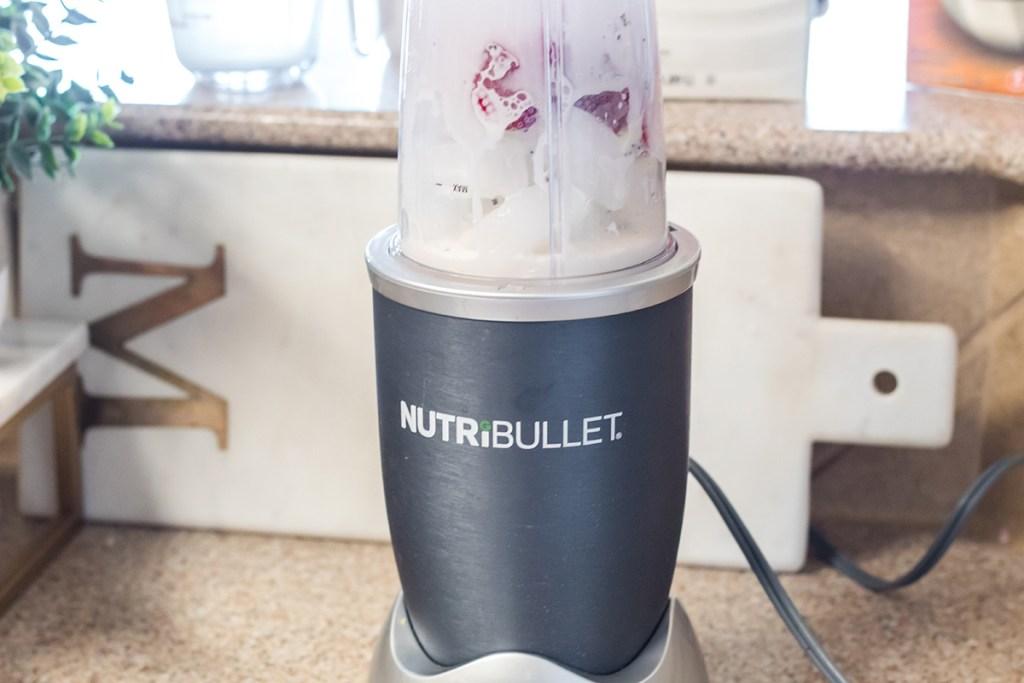 blending using a nutribullet blender