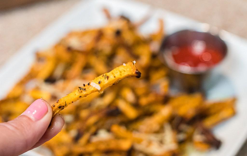 keto low carb rutabaga fries