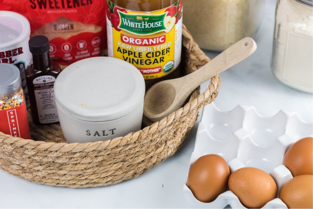 ingredients for keto donuts