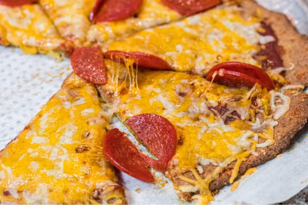 pork rind crust pizza