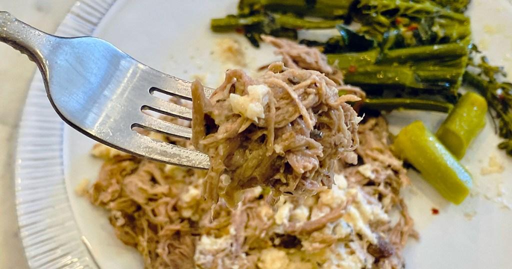 fork in factor meal entree