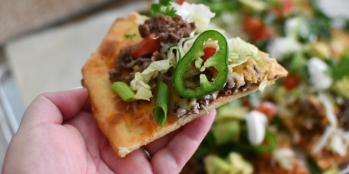 Best Keto Taco Pizza Recipe (Using Fathead Dough)