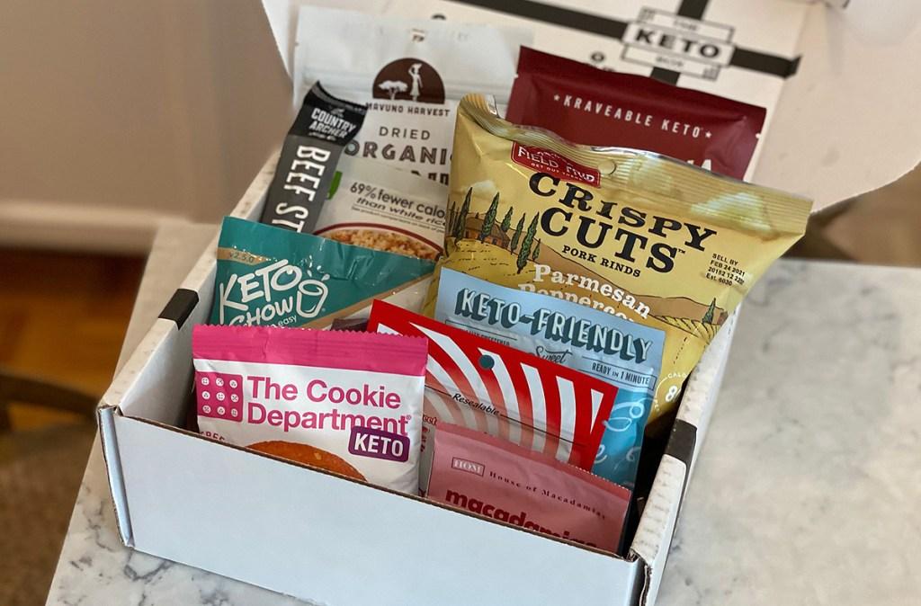 keto box snacks