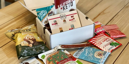 Need New Low-Carb Snacks? The Keto Box Has You Covered With All Kinds of Goodies!
