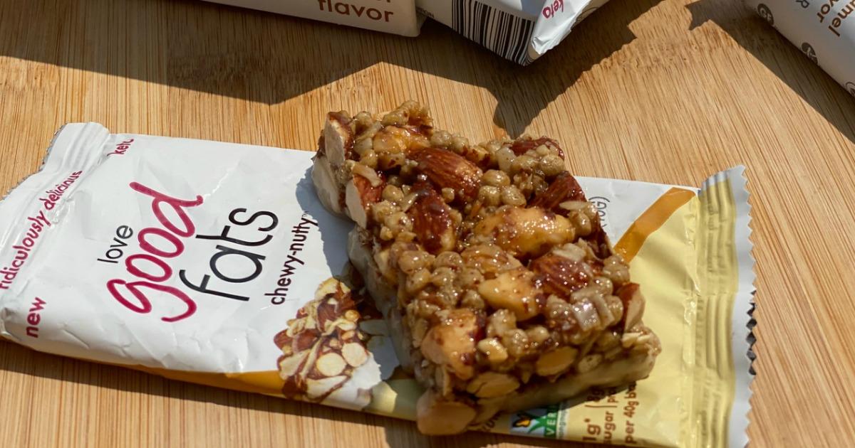 Love Good Fats granola bar