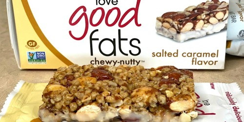 Get Your Keto Snacking on With Love Good Fats Chewy-Nutty Bars (+ Exclusive Promo Code!)