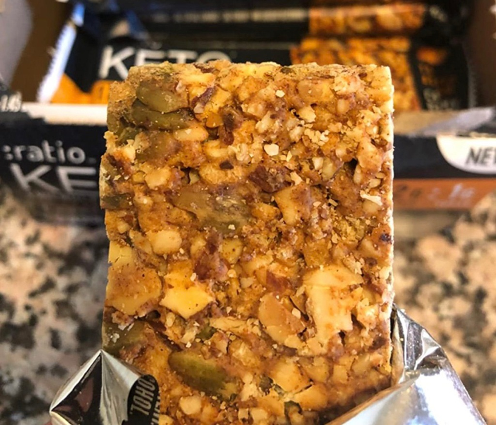 ratio keto-friendly bar