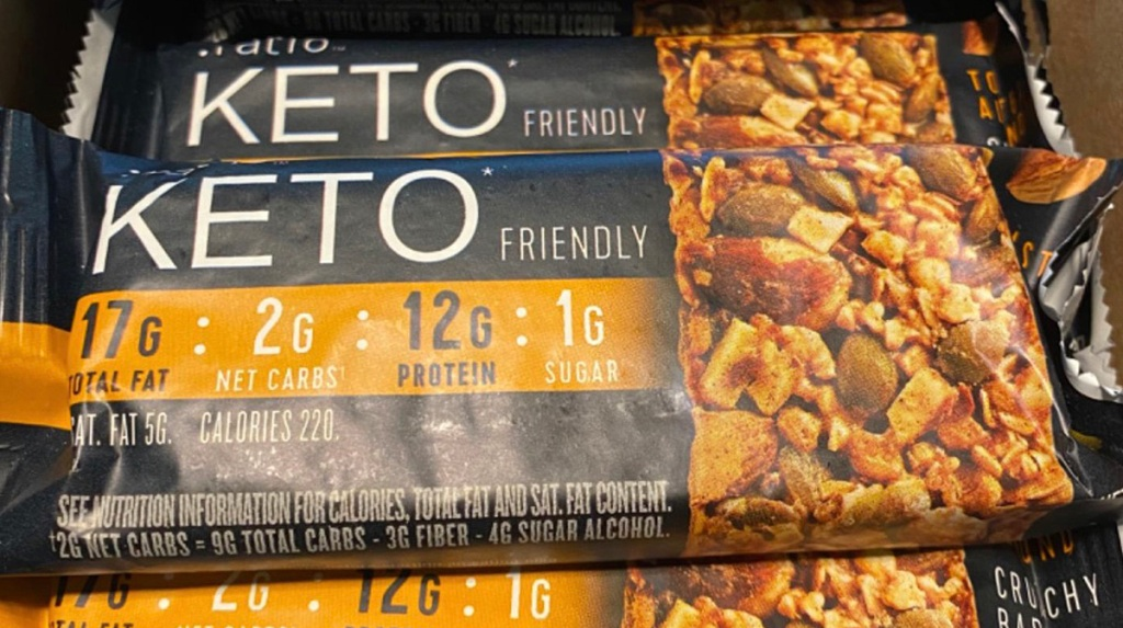 ratio keto bar