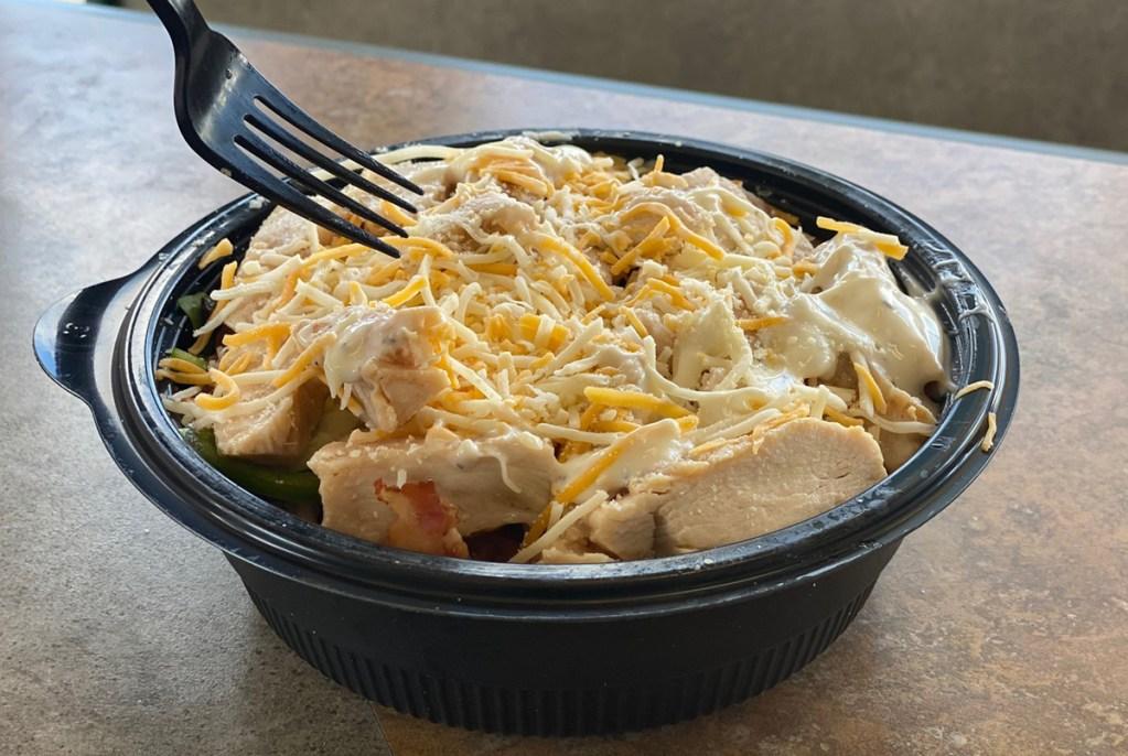 subway chicken power bowl