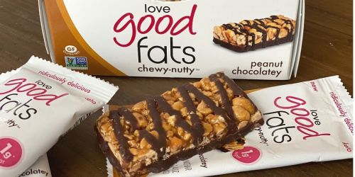 Get Your Keto Snacking on With Love Good Fats Chewy-Nutty Bars!