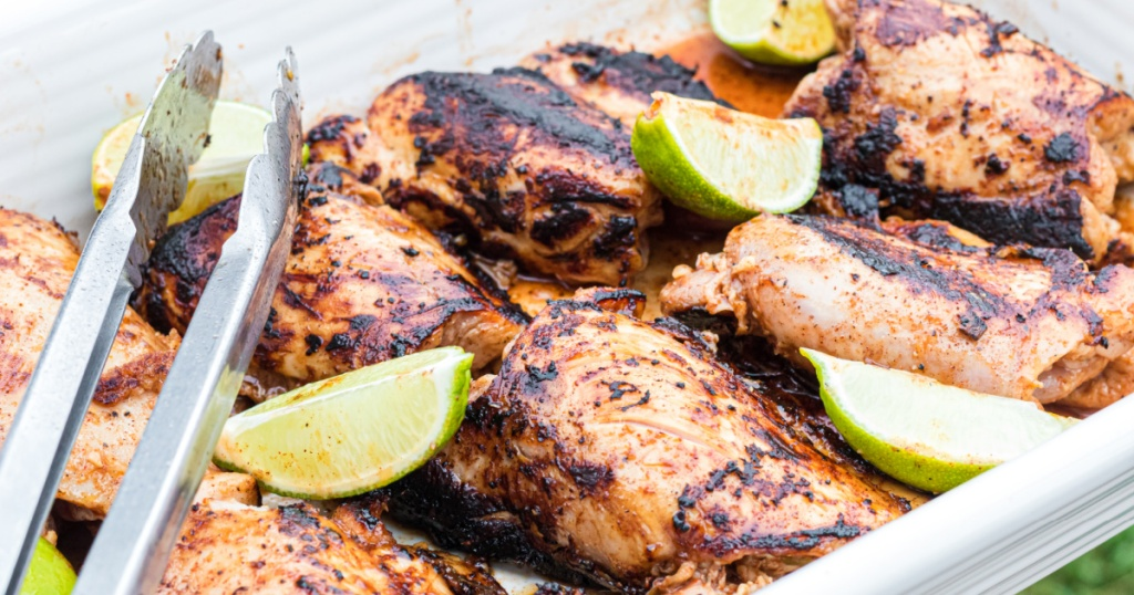 keto jerk chicken