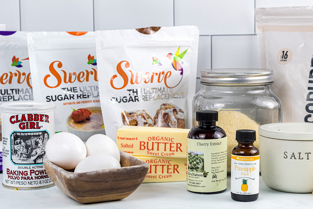 keto pineapple cake ingredients