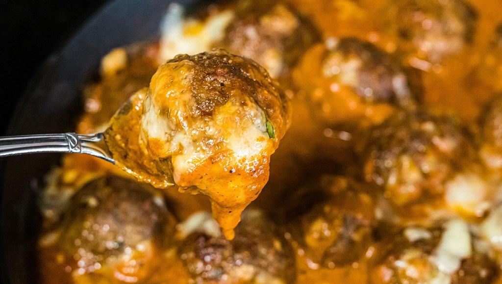 Keto Pumpkin Meatballs