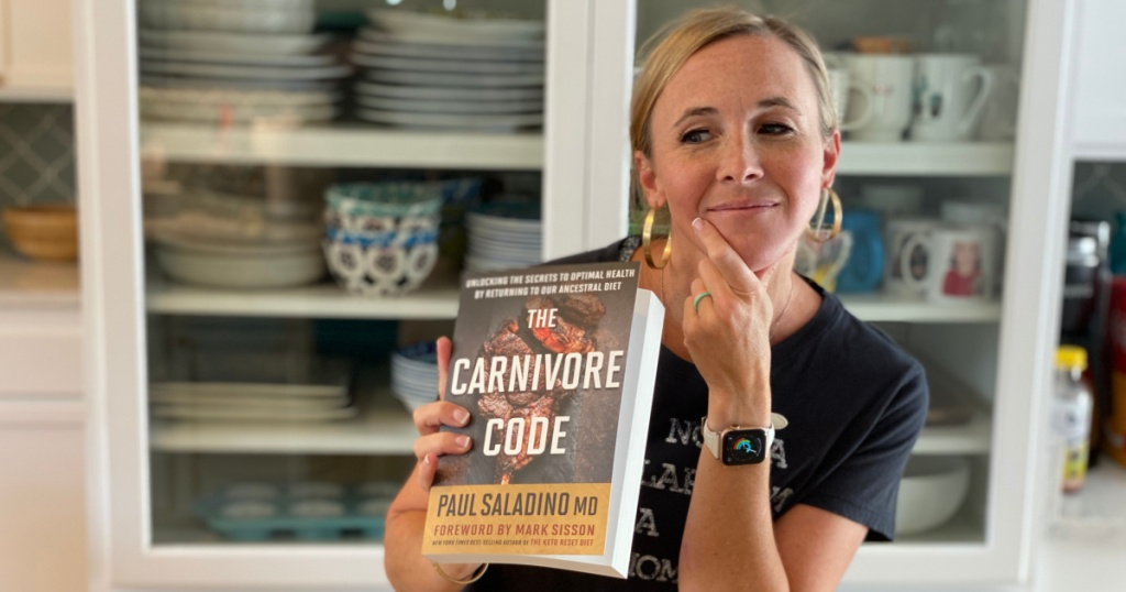 Girl with Carnivore Code Book