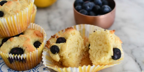 These Keto Lemon Blueberry Muffins Will Brighten Your Day!