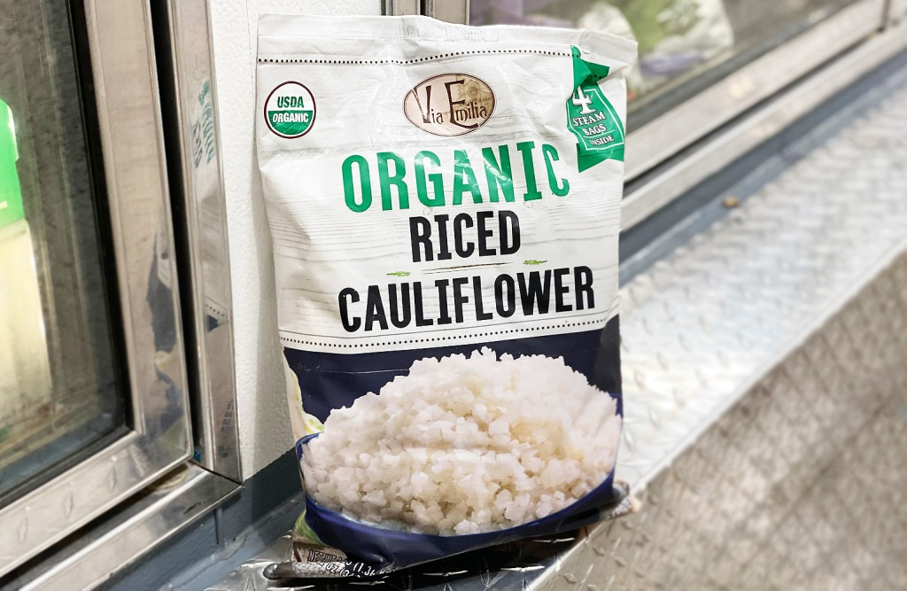 costco riced cauliflower