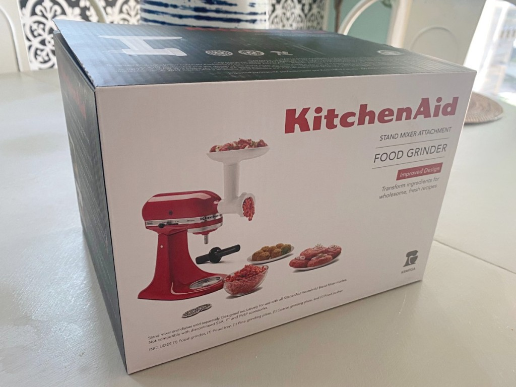 Kitchen Aid food grinder in box