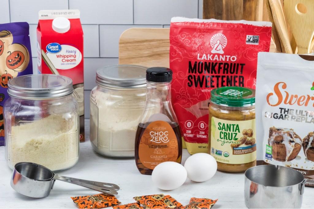 ingredients for keto monster cookies