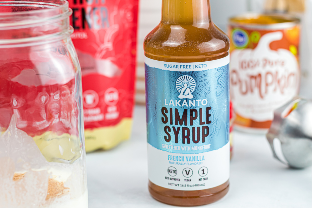 lankanto french vanilla simple syrup