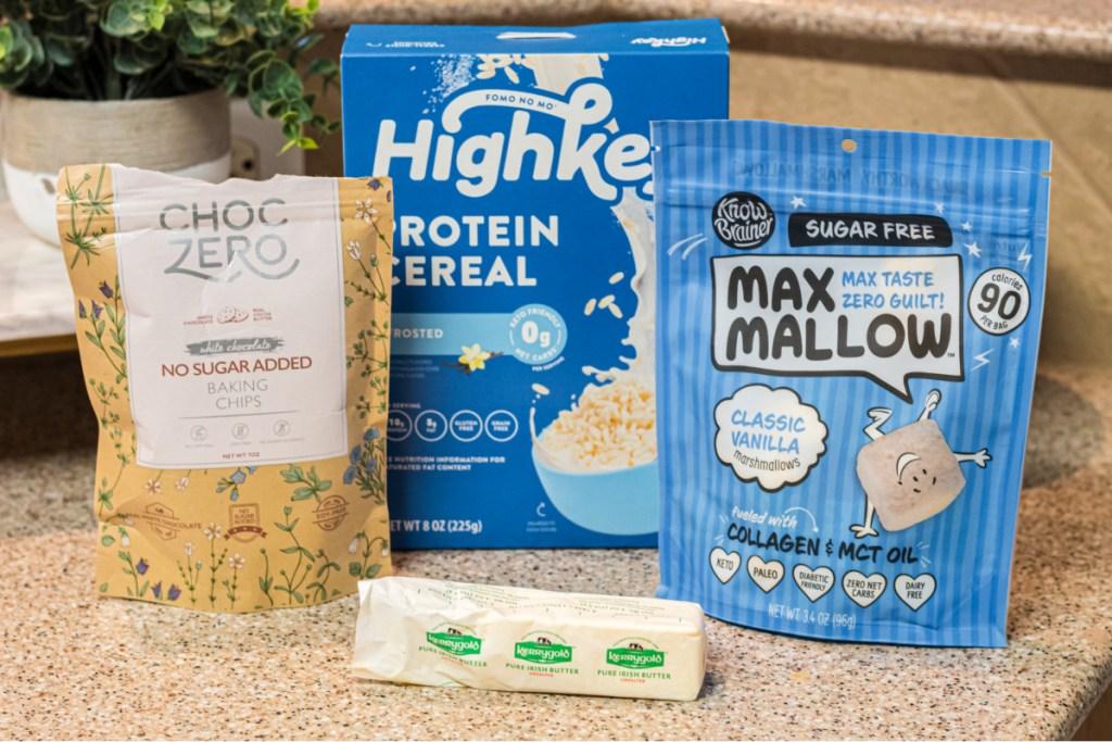 ingredients for keto rice krispie treats