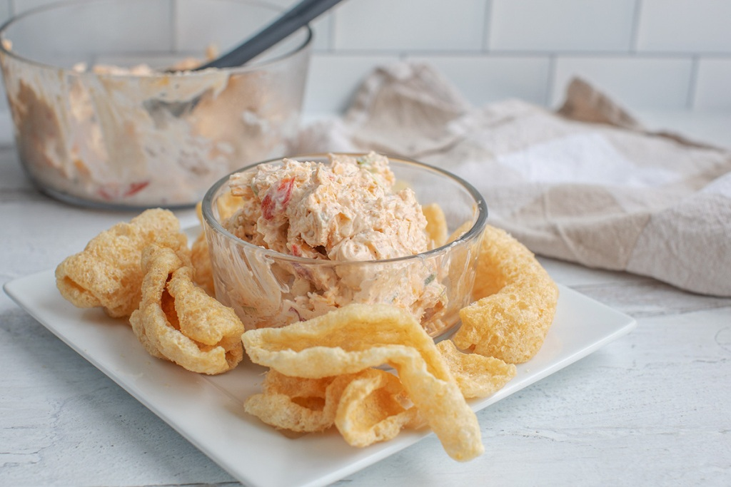 keto game day food Pimento Cheese in a bowl