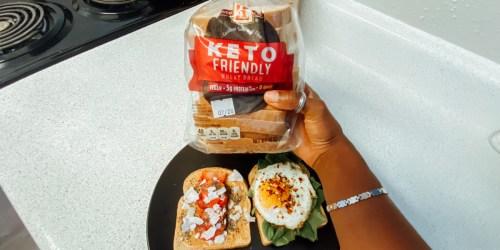 Have You Tried ALDI's Zero Net-Carb Keto Bread Yet?!