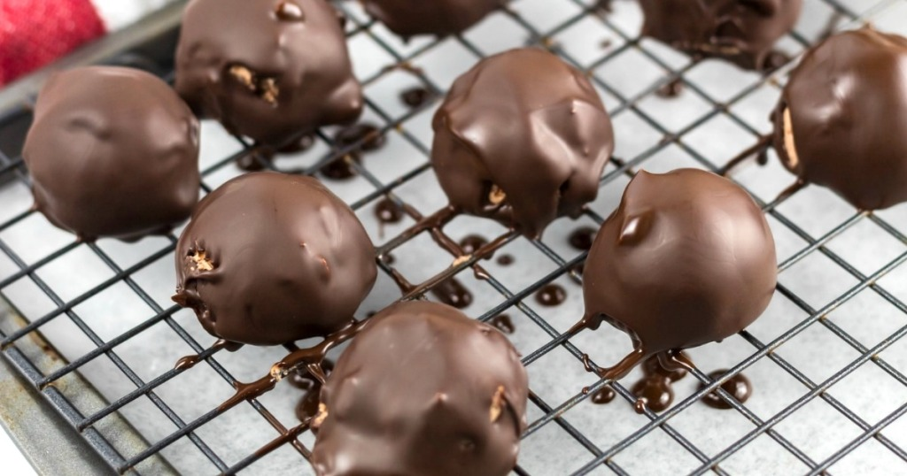 Chocolate-covered cherry fat bomb