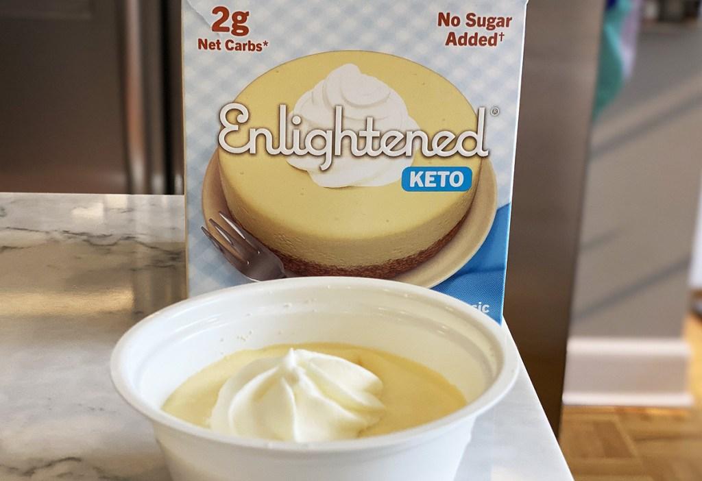enlightened keto classic cheesecake