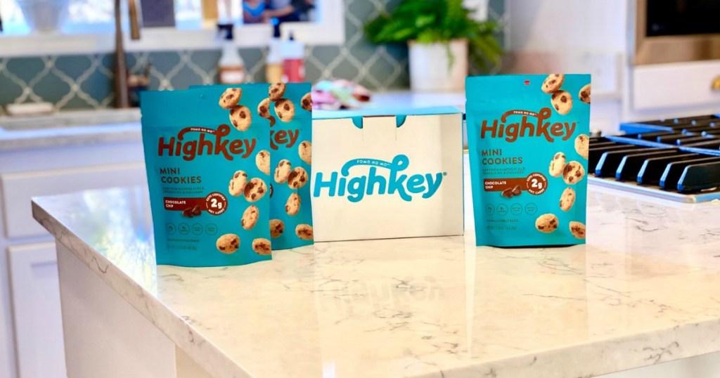 highkey cookies on countertop