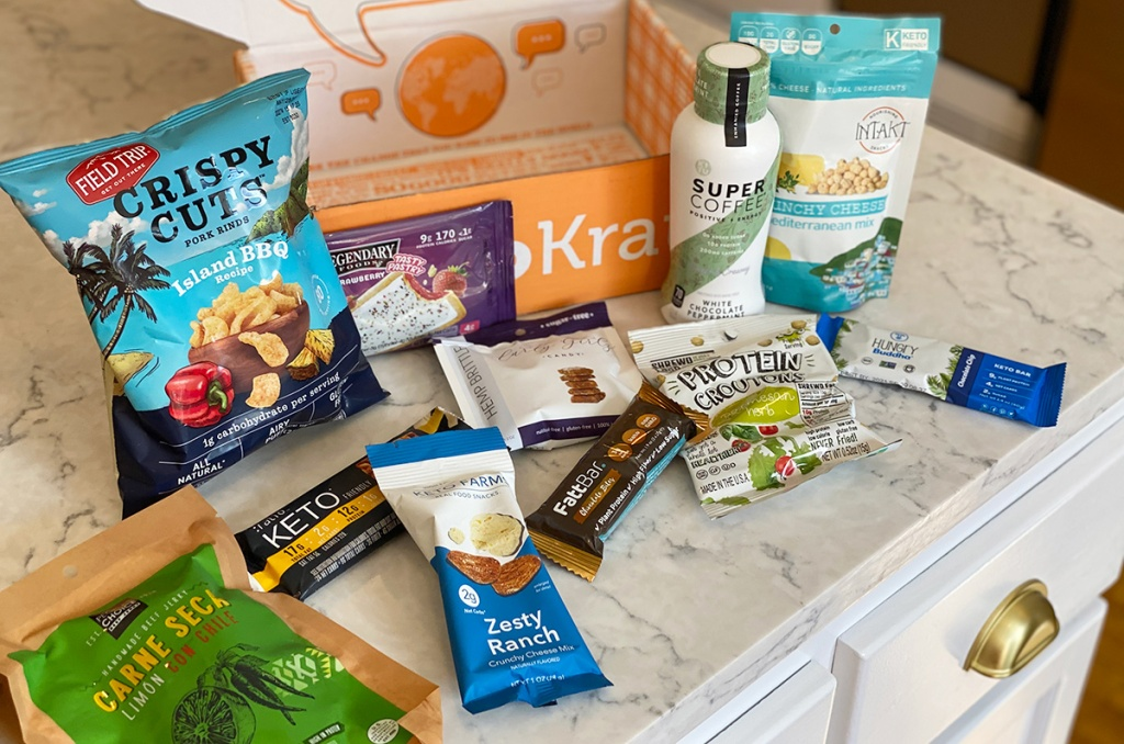 keto products from keto box