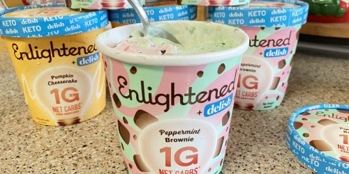 Enlightened Seasonal Keto Ice Creams Are DELISH!