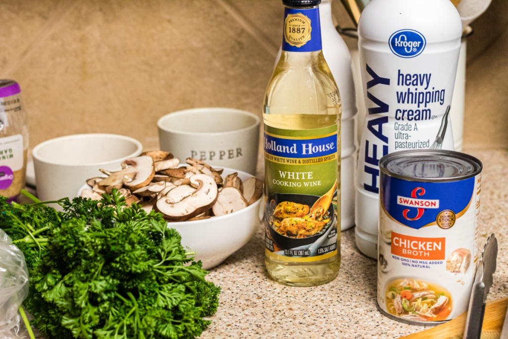 ingredients for keto chicken marsala