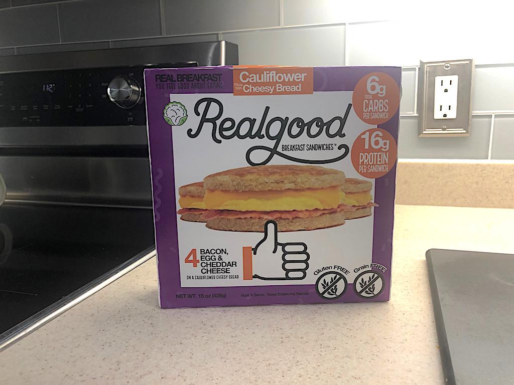 Realgood breakfast sandwiches