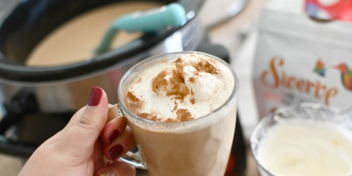 Make Keto Gingerbread Lattes Using Your Crock-Pot!