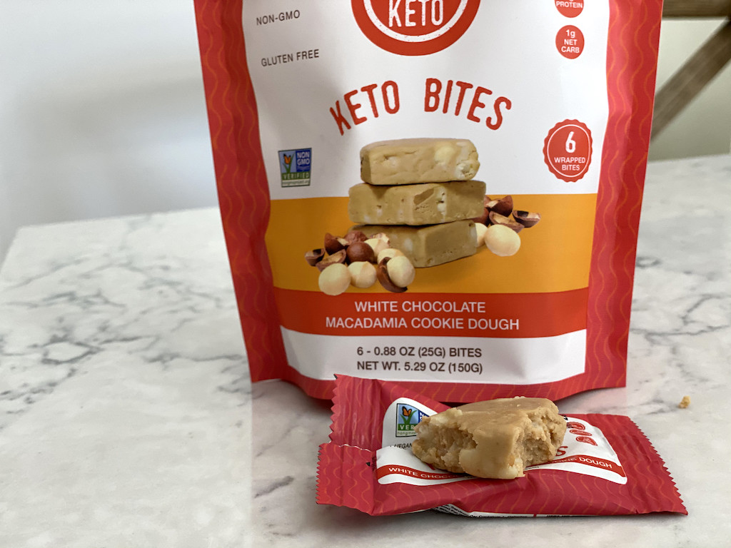 Bhu keto bites white chocolate macadamia cookie dough