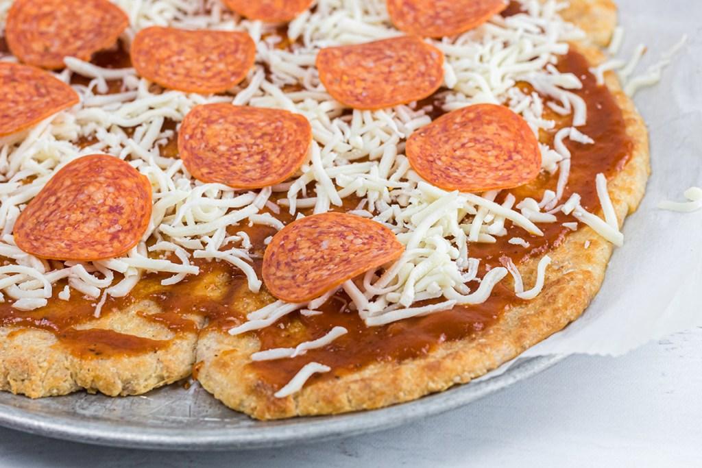 keto-friendly pizza using easy dough recipe