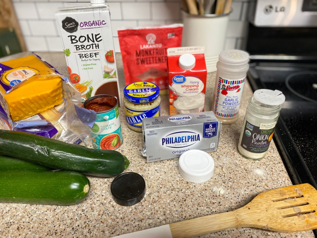 ingredients for keto hamburger helper