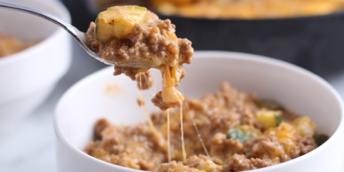 Easy & Cheesy Keto Hamburger Helper