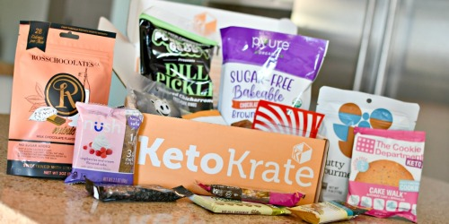 Score 25% Off Keto Krate Boxes Filled With Low-Carb Snacks!