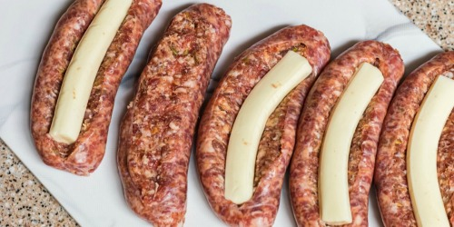 Cheese-Stuffed Italian Sausage (Quick Keto Dinner Idea)