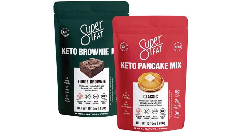 superfat baking mixes