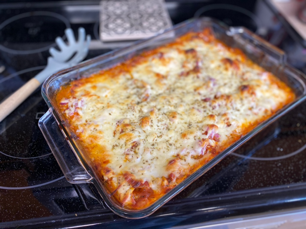 Keto Chicken Pepperoni Casserole