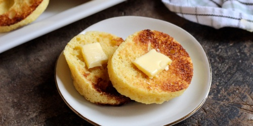 Quick & Easy Keto English Muffin Recipe